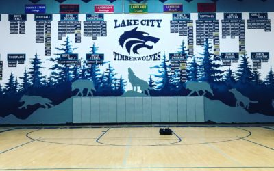 Lakecity High School Gym
