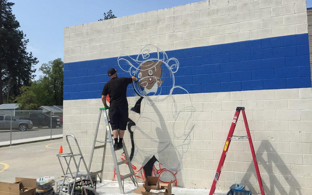 Bryan Elementary Wall Ball Court